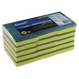 Oates Sponge & Scour 15 Pack