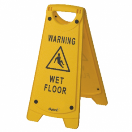 Oates Caution Sign A-frame