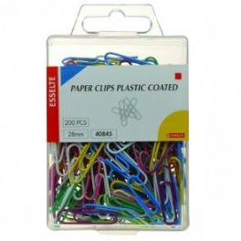 Paper Clip Coated 28mm 200 Pack