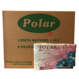 Polar Lunch Napkin 6x500 Sheets