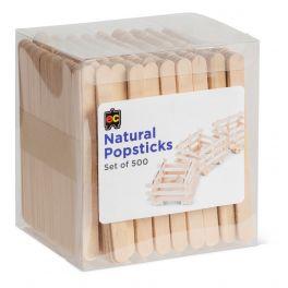 Popsticks Natural 500 Pack