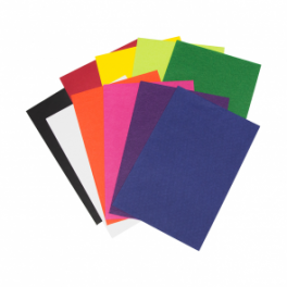 A4 Colours Board 100 Sheets - 10 Assorted Colours
